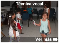Programa Técnica vocal