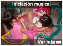 Programa Iniciación musical